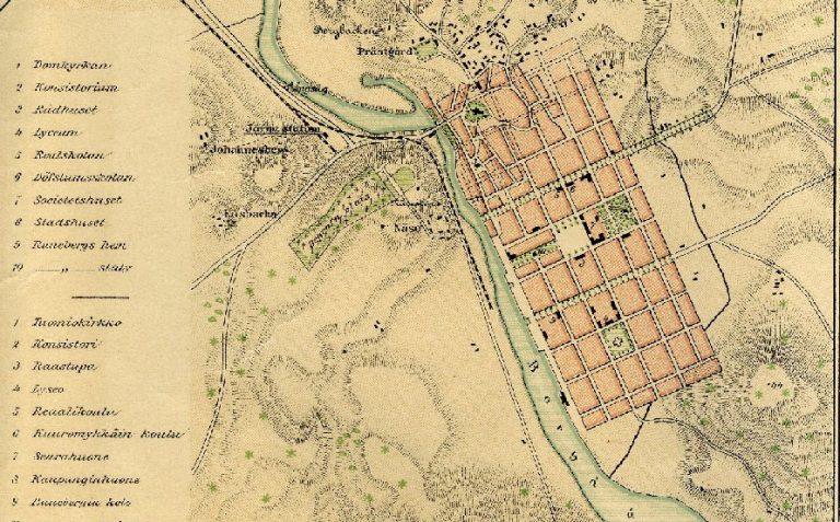 Historian merkitys kaupunkisuunnittelussa